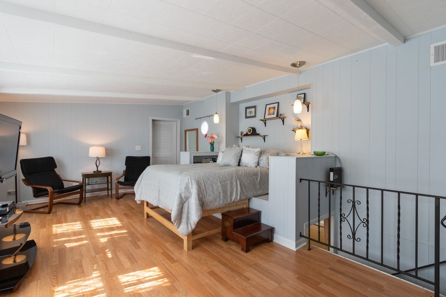 Real Estate Photography - 206 S. Forrest, Arlington Heights, IL, 60004 - Master Bedroom