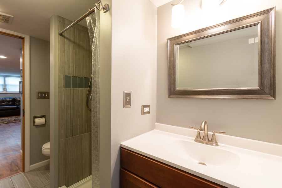 Real Estate Photography - 206 S. Forrest, Arlington Heights, IL, 60004 - Half Bath