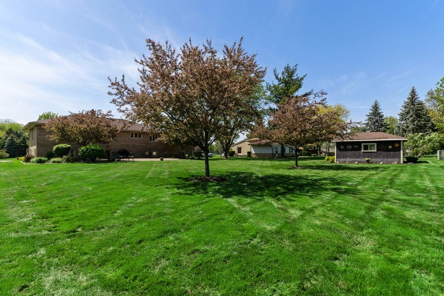 Real Estate Photography - 341 Martin Ln, Bloomingdale, IL, 60108 - Back Yard