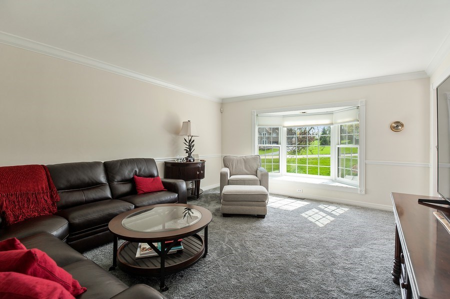 Real Estate Photography - 913 Silver Glen Rd, McHenry, IL, 60050 - Living Room