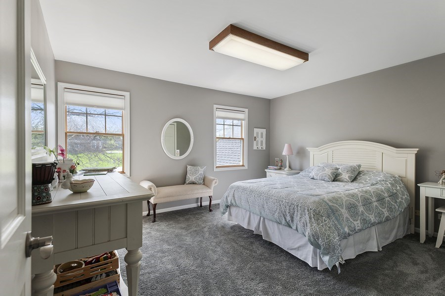 Real Estate Photography - 913 Silver Glen Rd, McHenry, IL, 60050 - 3rd Bedroom