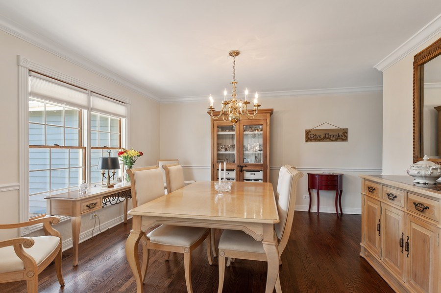 Real Estate Photography - 913 Silver Glen Rd, McHenry, IL, 60050 - Dining Room