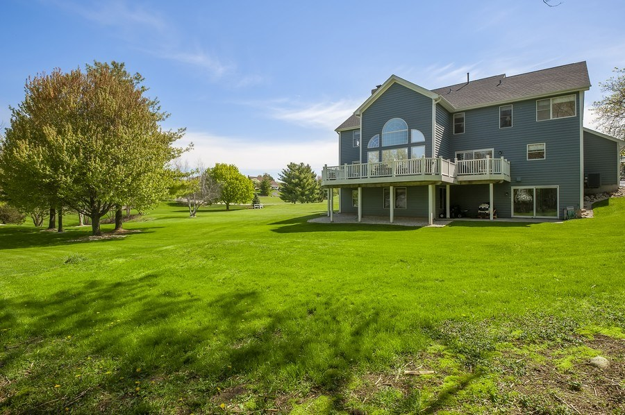 Real Estate Photography - 913 Silver Glen Rd, McHenry, IL, 60050 - Rear View