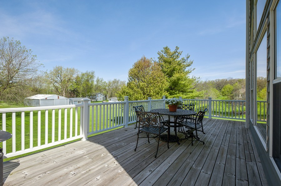 Real Estate Photography - 913 Silver Glen Rd, McHenry, IL, 60050 - Deck