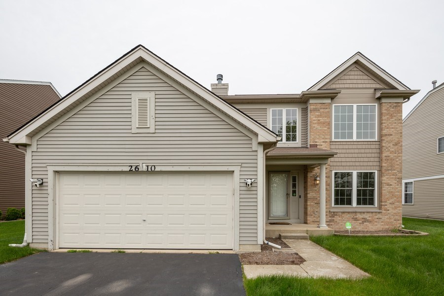 Real Estate Photography - 2610 Spinnaker Dr, Aurora, IL, 60503 - Front View