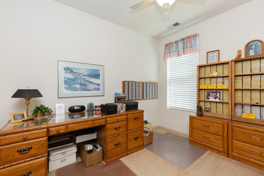 Real Estate Photography - 11890 Covey Lane, Huntley, IL, 60142 - 2nd Bedroom