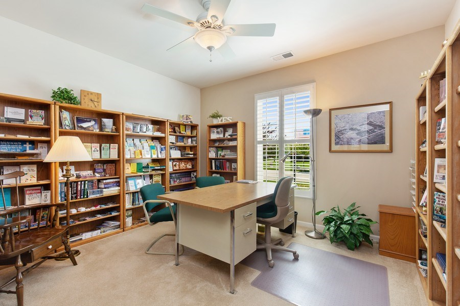 Real Estate Photography - 11890 Covey Lane, Huntley, IL, 60142 - Office