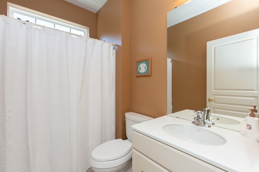 Real Estate Photography - 11890 Covey Lane, Huntley, IL, 60142 - Bathroom