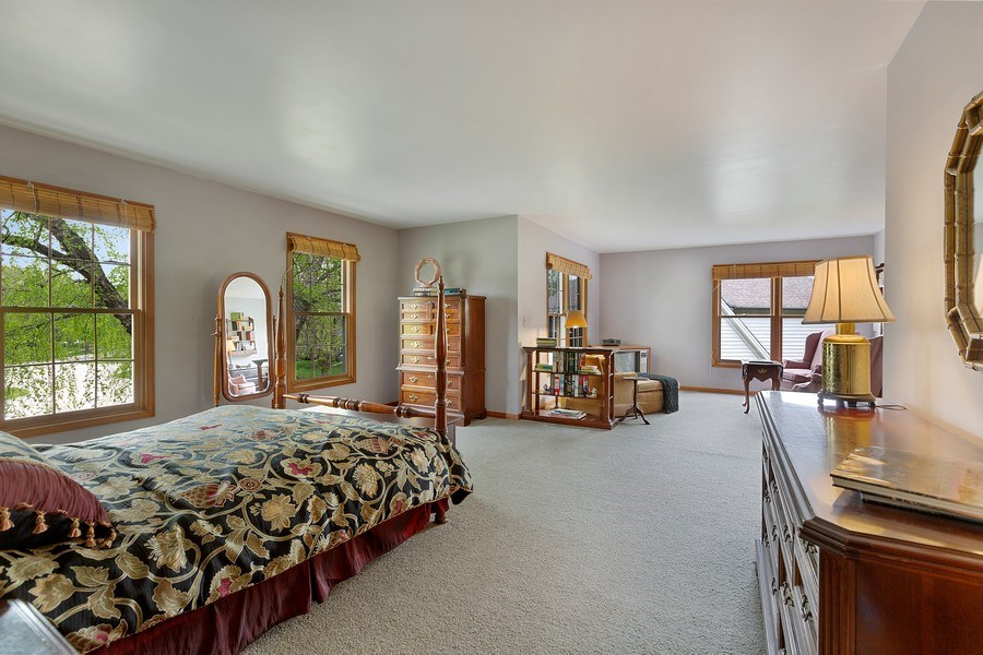 Real Estate Photography - 5 Liberty Court, Cary, IL, 60013 - Master Bedroom