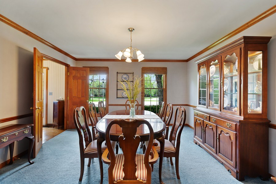 Real Estate Photography - 5 Liberty Court, Cary, IL, 60013 - Dining Room