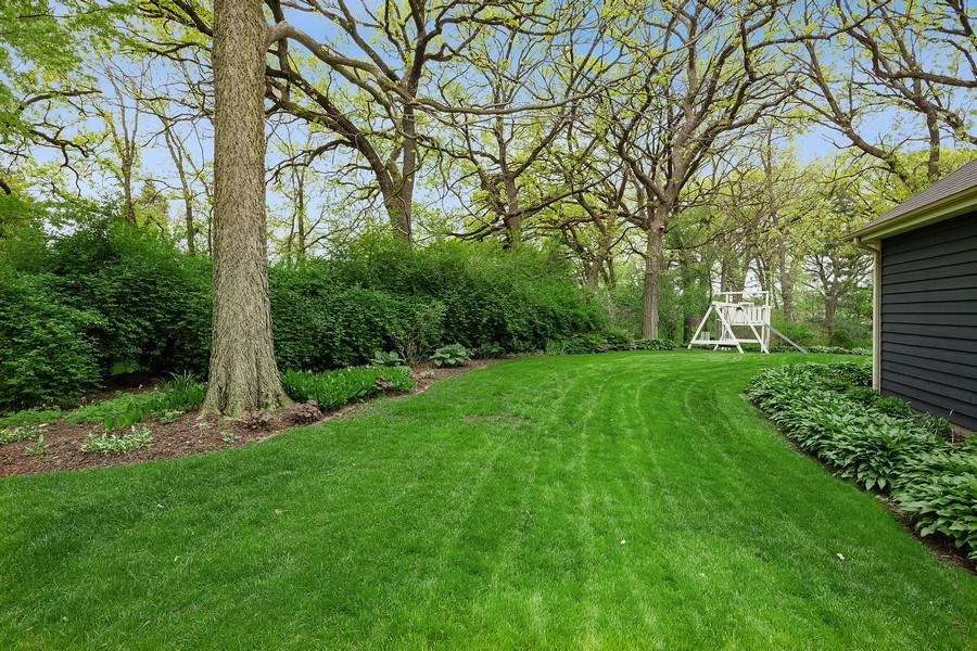 Real Estate Photography - 5 Liberty Court, Cary, IL, 60013 - Back Yard