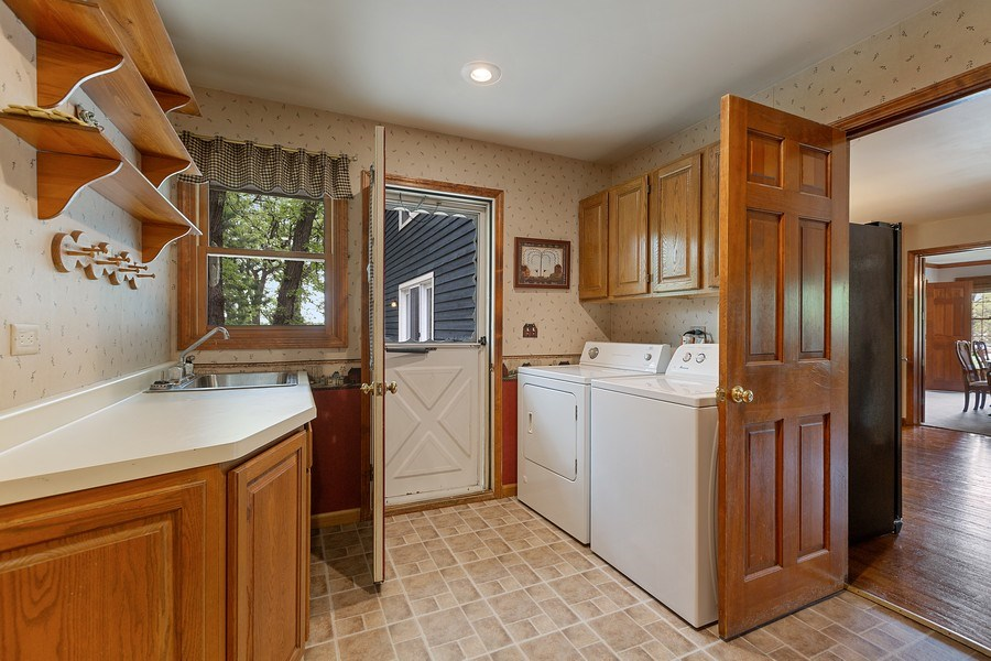 Real Estate Photography - 5 Liberty Court, Cary, IL, 60013 - Laundry Room