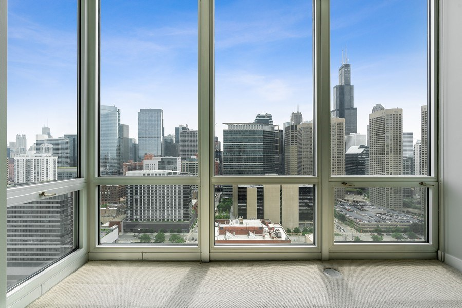 Real Estate Photography - 737 W Washington Blvd, Unit 2403, Chicago, IL, 60661 - 2nd Bedroom
