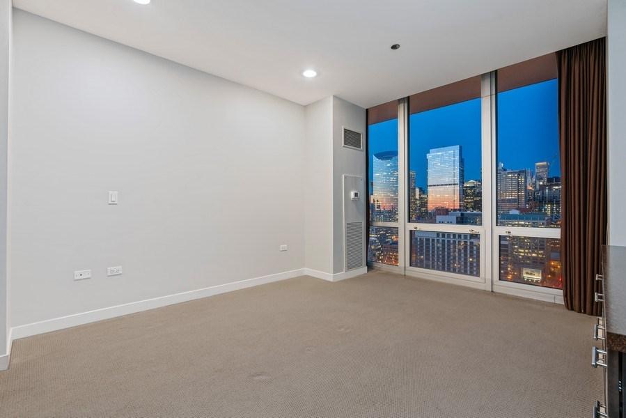 Real Estate Photography - 737 W Washington Blvd, Unit 2403, Chicago, IL, 60661 - Master Bedroom