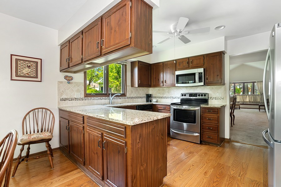 Real Estate Photography - 221 Country Club Drive, Prospect Heights, IL, 60070 - Kitchen