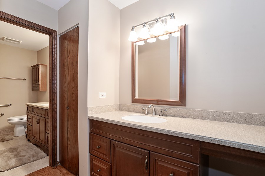 Real Estate Photography - 221 Country Club Drive, Prospect Heights, IL, 60070 - Master bathroom