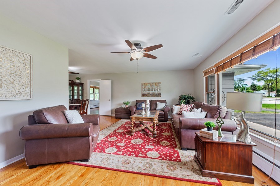 Real Estate Photography - 704 W Palatine Rd, Arlington Heights, IL, 60004 - Living Room