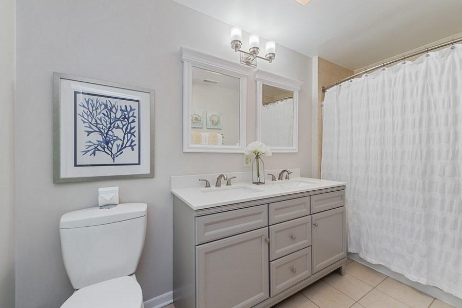 Real Estate Photography - 704 W Palatine Rd, Arlington Heights, IL, 60004 - Master Bathroom
