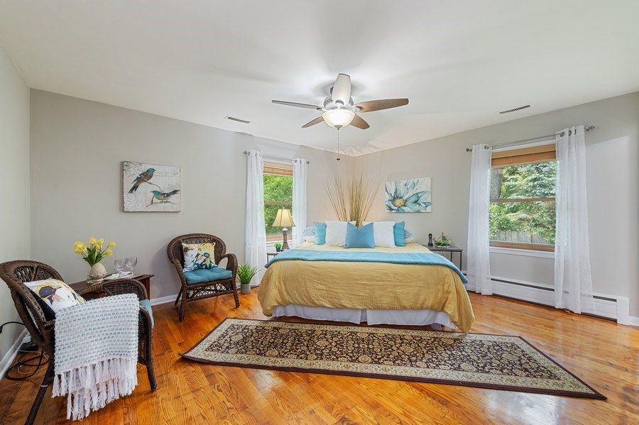 Real Estate Photography - 704 W Palatine Rd, Arlington Heights, IL, 60004 - Master Bedroom