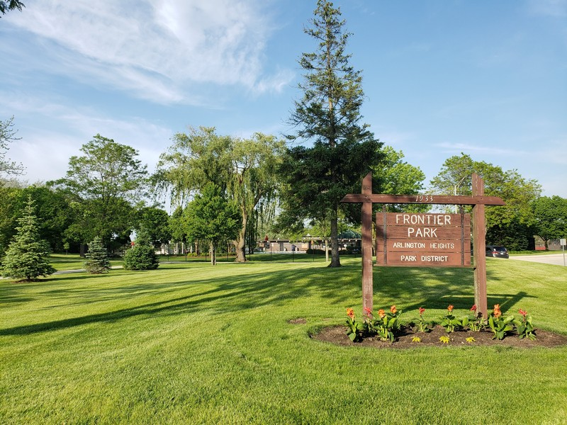 Real Estate Photography - 704 W Palatine Rd, Arlington Heights, IL, 60004 - Frontier Park