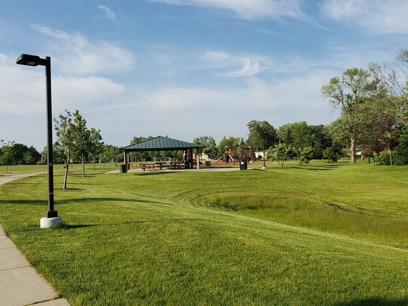 Real Estate Photography - 704 W Palatine Rd, Arlington Heights, IL, 60004 - Playground/Basketball Courts/Community Garden