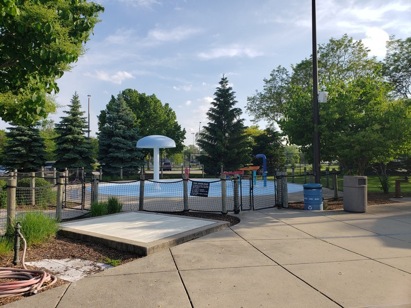 Real Estate Photography - 704 W Palatine Rd, Arlington Heights, IL, 60004 - Kiddie Splash Pad