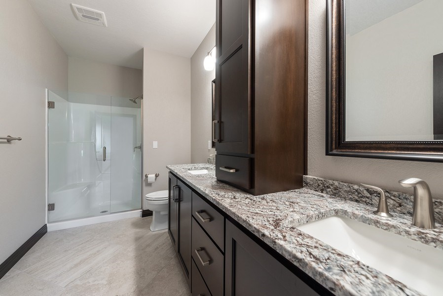 Real Estate Photography - 926 River Bluff, Manitowoc, WI, 54220 - Master Bathroom