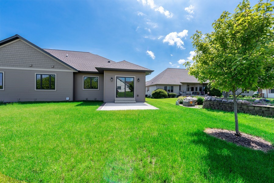 Real Estate Photography - 926 River Bluff, Manitowoc, WI, 54220 - Rear View