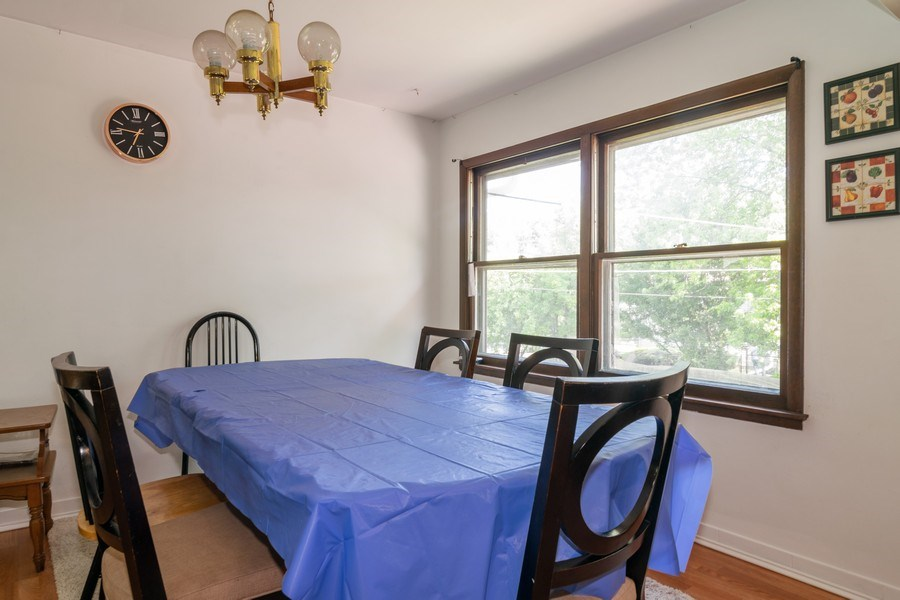 Real Estate Photography - 2040 Arbor Vitae Drive, Hanover Park, IL, 60133 - Dining Room