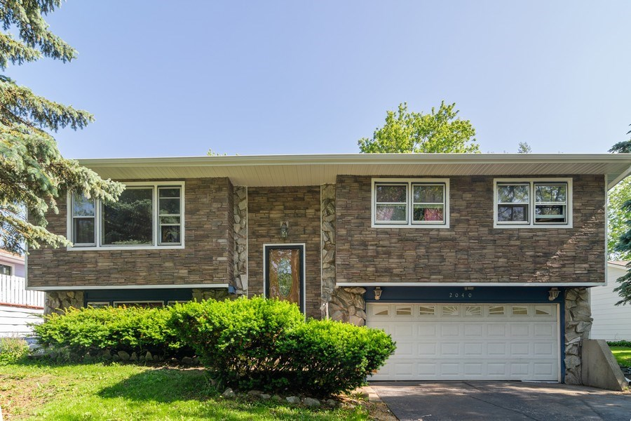 Real Estate Photography - 2040 Arbor Vitae Drive, Hanover Park, IL, 60133 - Front View