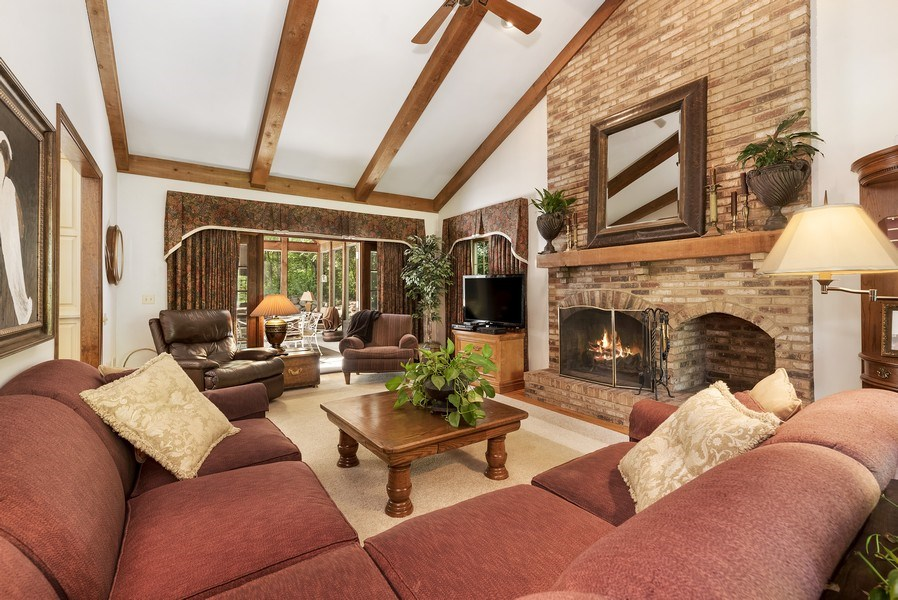 Real Estate Photography - 6705 Lexington Trail, Crystal Lake, IL, 60012 - Family Room