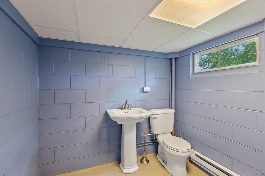 Real Estate Photography - 68 S. Circle Avenue, Port Barrington, IL, 60010 - Powder Room