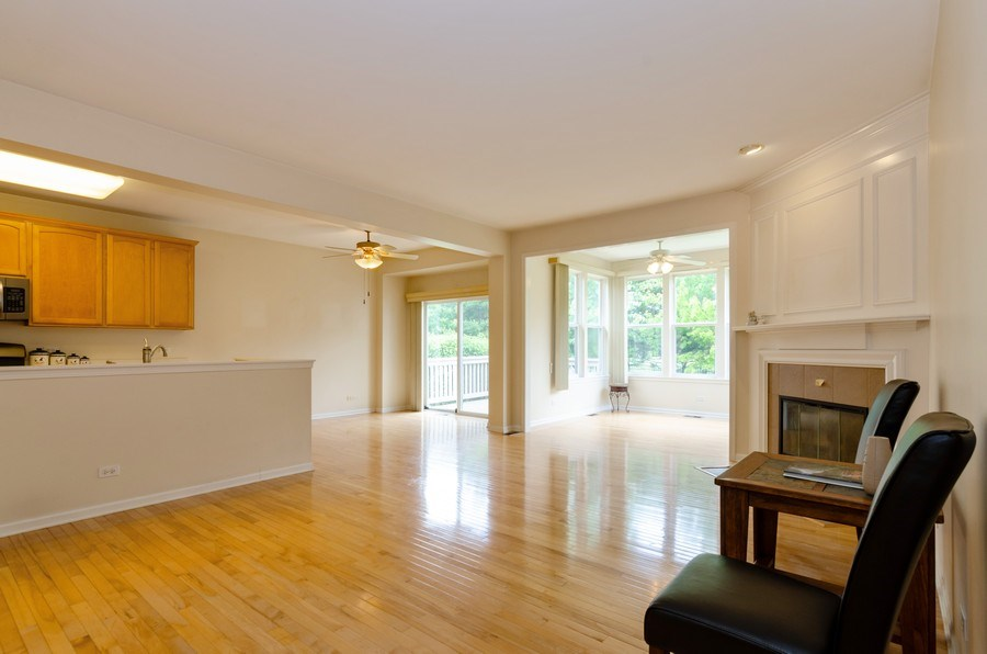 Real Estate Photography - 4201 Whitehall Lane, Algonquin, IL, 60102 - Living Room