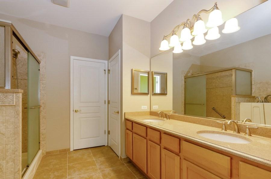Real Estate Photography - 4201 Whitehall Lane, Algonquin, IL, 60102 - Master Bathroom