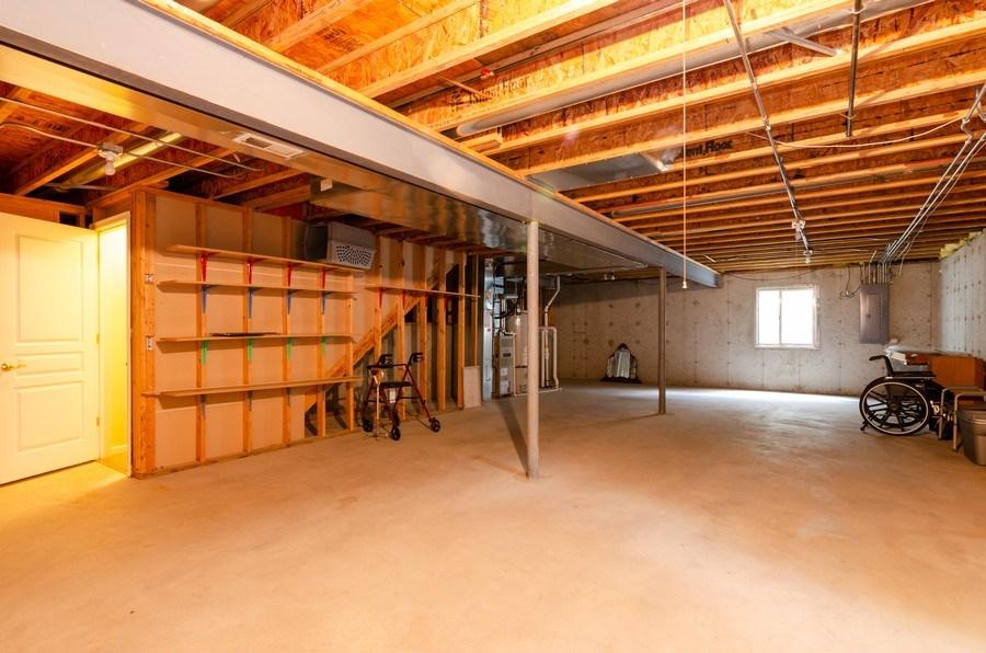 Real Estate Photography - 4201 Whitehall Lane, Algonquin, IL, 60102 - Basement
