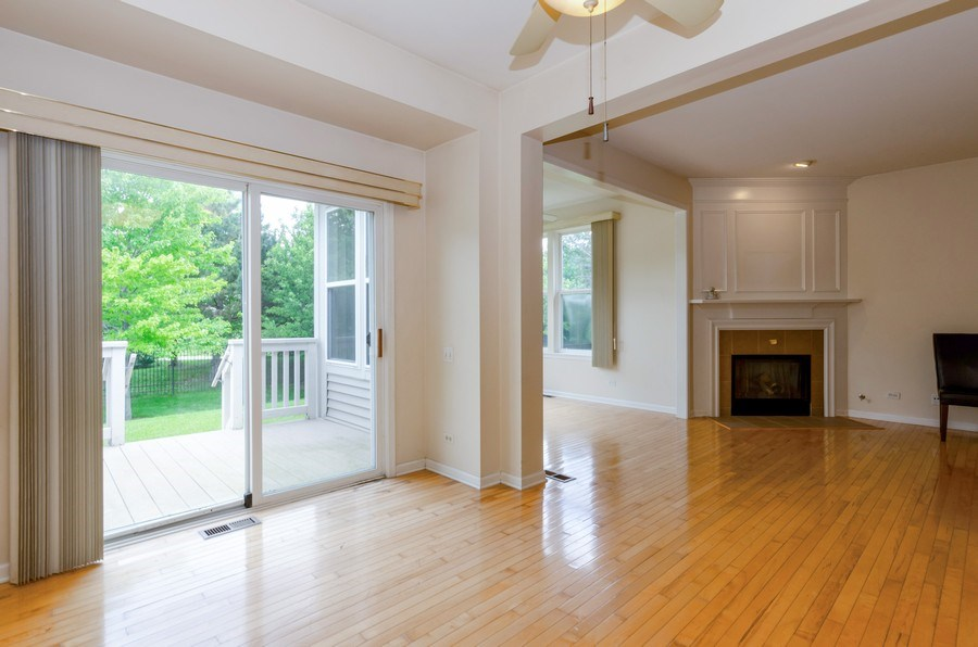 Real Estate Photography - 4201 Whitehall Lane, Algonquin, IL, 60102 - Dining Room