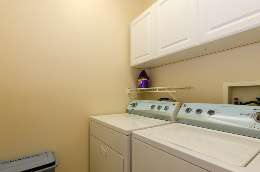 Real Estate Photography - 4201 Whitehall Lane, Algonquin, IL, 60102 - Laundry Room