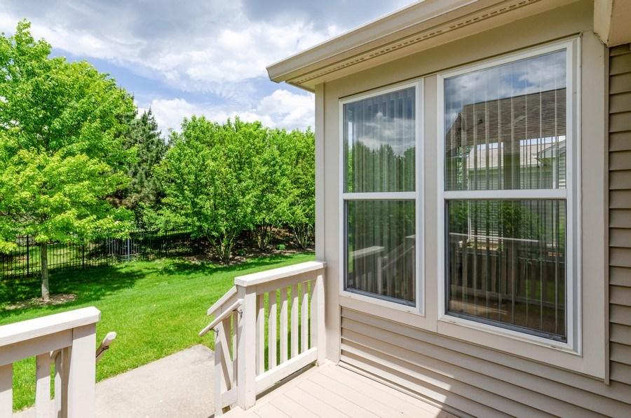 Real Estate Photography - 4201 Whitehall Lane, Algonquin, IL, 60102 - Deck