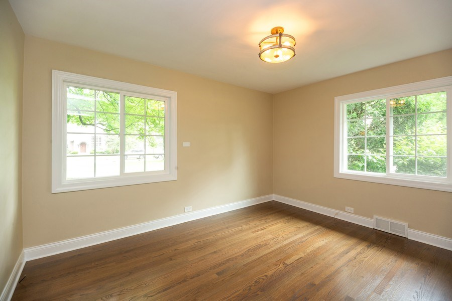 Real Estate Photography - 1501 Central Pkwy, Glenview, IL, 60025 - 2nd Bedroom