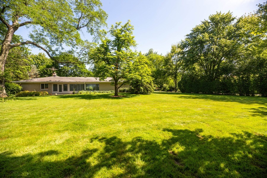 Real Estate Photography - 1501 Central Pkwy, Glenview, IL, 60025 - Back Yard