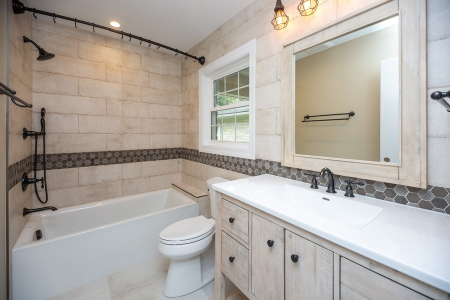 Real Estate Photography - 1501 Central Pkwy, Glenview, IL, 60025 - Bathroom