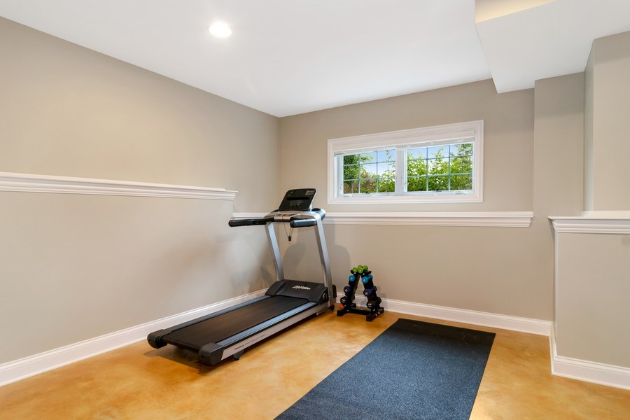 Real Estate Photography - 1001 Kingsmill Dr., Algonquin, IL, 60102 - Exercise Room
