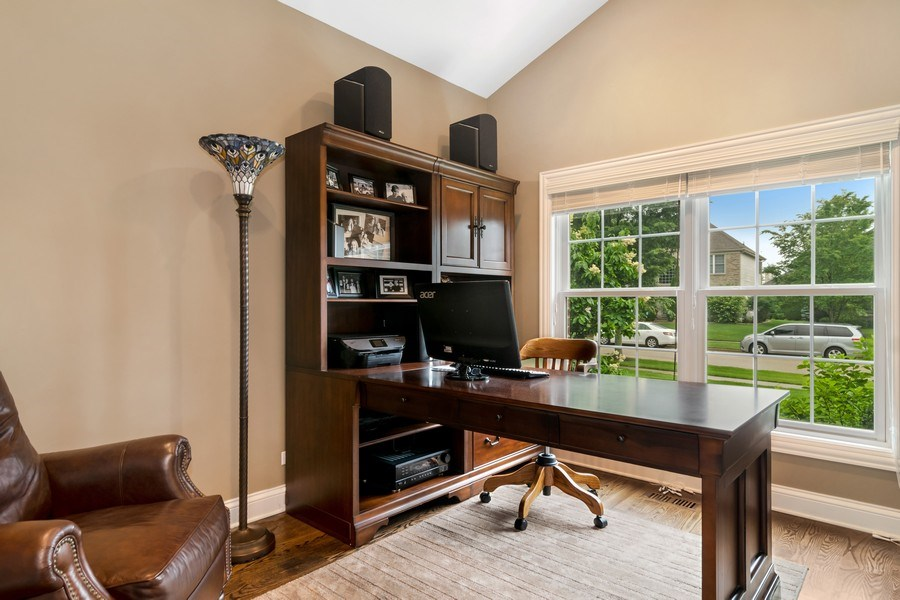 Real Estate Photography - 1001 Kingsmill Dr., Algonquin, IL, 60102 - Office