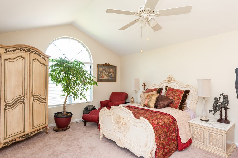 Real Estate Photography - 1266 Berkshire Lane, Barrington, IL, 60010 - Master Bedroom