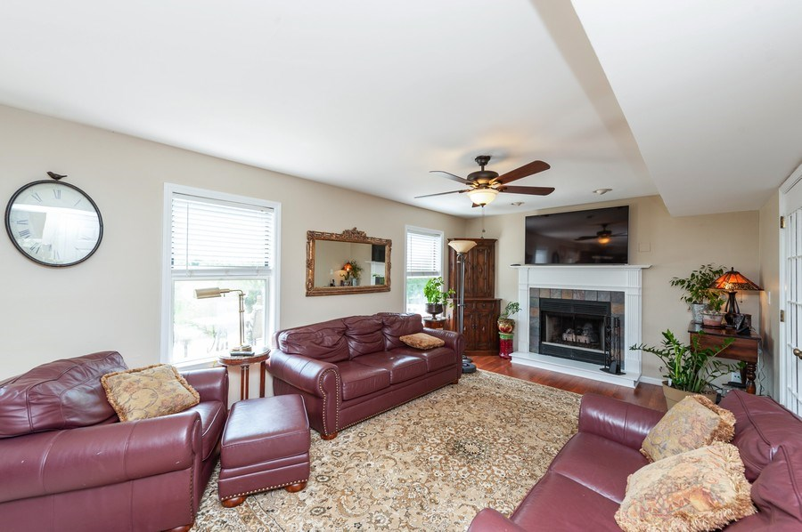 Real Estate Photography - 1266 Berkshire Lane, Barrington, IL, 60010 - Family Room
