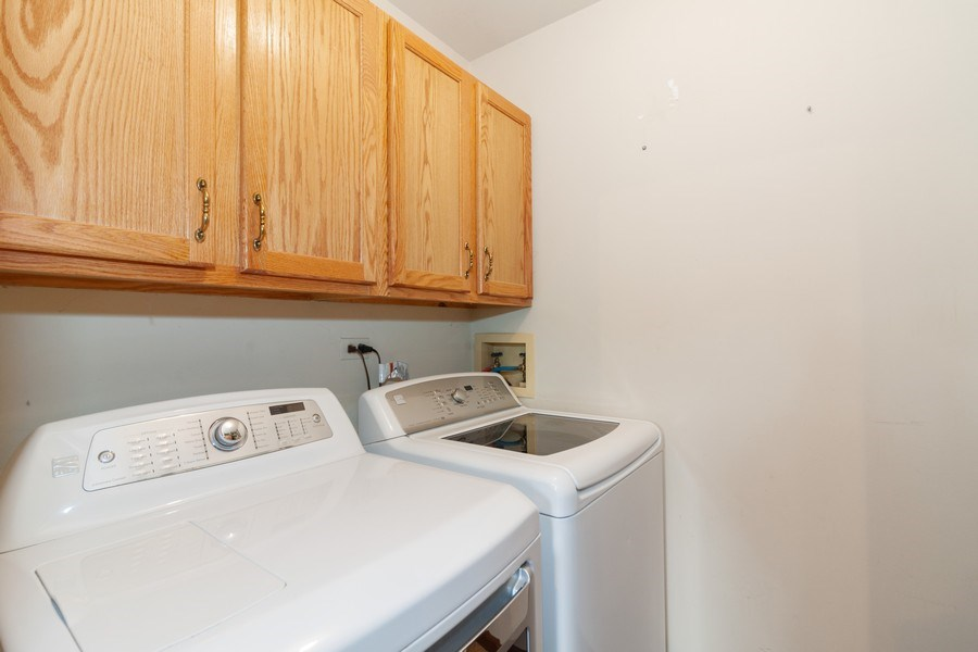 Real Estate Photography - 2766 Leyland Ln., Aurora, IL, 60504 - Laundry Room