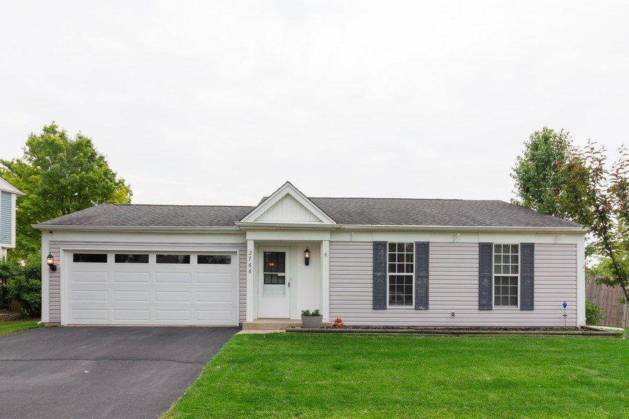 Real Estate Photography - 2766 Leyland Ln., Aurora, IL, 60504 - Front View