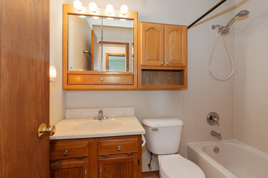 Real Estate Photography - 2766 Leyland Ln., Aurora, IL, 60504 - Bathroom