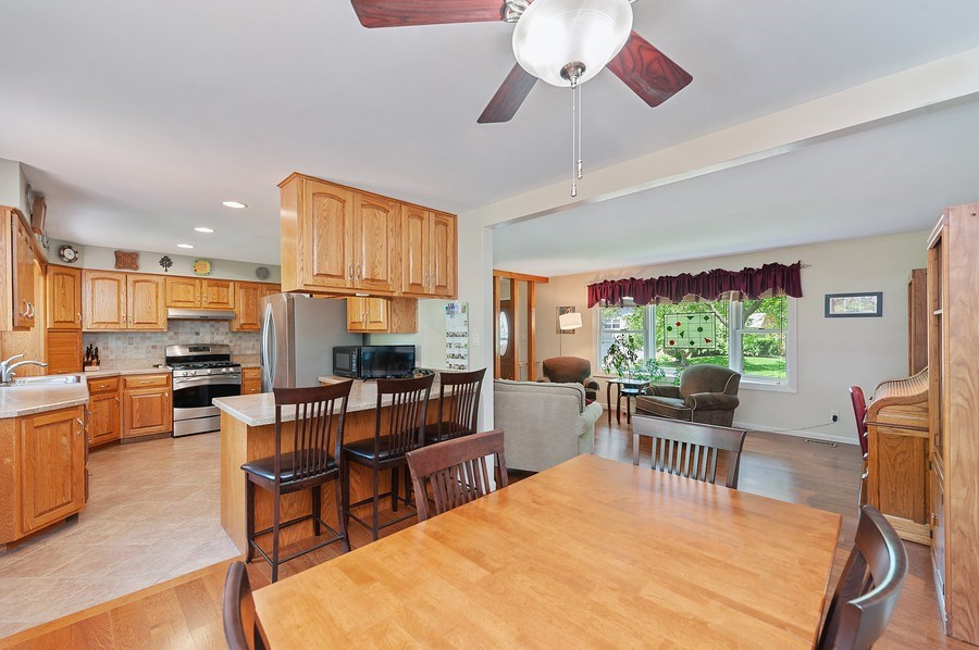 Real Estate Photography - 735 Concord, Algonquin, IL, 60102 - Dining Area