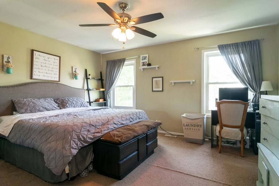 Real Estate Photography - 412 Chippendale Dr., Bartlett, IL, 60103 - Master Bedroom